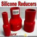 Red 57mm To 45mm Straight Silicone Reducer, Reducing Silicon Hose Pipe